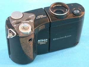 AS IS Nikon Coolpix 4500 Digital Camera Parts or Repair