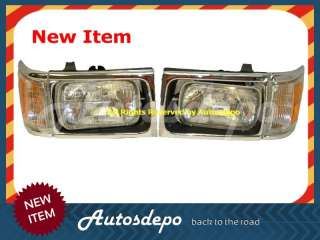 92 93 94 95 TOYOTA PICKUP 4WD CHR GRILLE HEADLIGHT NEW