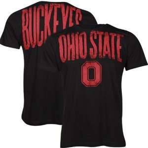Ohio State Buckeyes Black Highway T shirt Sports