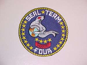 USN US NAVY SEAL TEAM 4 FOUR RECONNAISSANCE RECON SPECIAL WARFARE