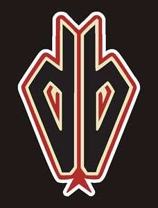 Arizona Diamondbacks Snake Logo Decal, Sticker 4 #5a