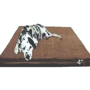 Rate Extra Large Brown Microsuede Waterproof Full Memory Foam Pad Dog