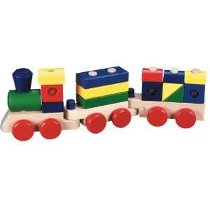 Stacking Train Wooden Toy Toys & Games
