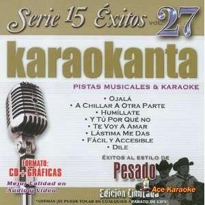 Karaokanta KAR 1527   Pesado Edicion Limitada Spanish CDG