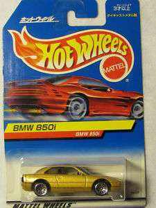 HOT WHEELS 1999 #1093 BMW 850i JAPAN Card