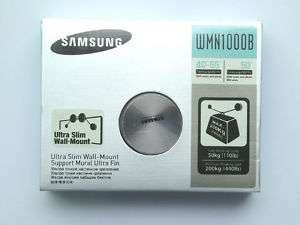 New SAMSUNG WMN1000B ULTRA SLIM WALL MOUNT For LED TV