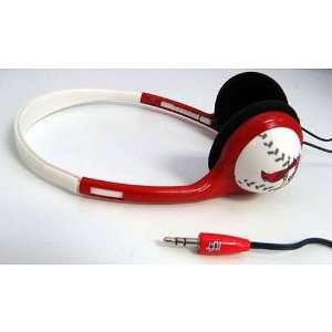 St. Louis Cardinals Logo Baseball Over the Head Headphones