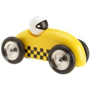 Vilac Race Car Toy, Yellow Baby