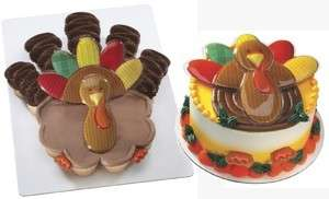 Thanksgiving Turkey Fall Autumn Cake Cupcake Decoration Plastic