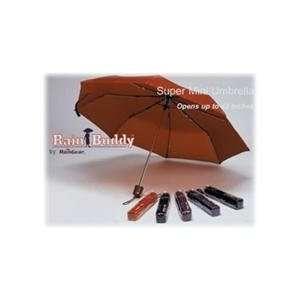 RainGear 10 Nylon Super Mini Manual Umbrella With Plastic