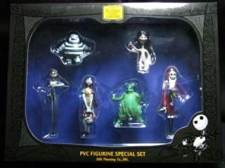 Nightmare Before Christmas PVC Figurine Special Set