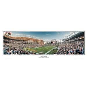 Broncos Football Team 8 Yard Line Invesco Field at Mile High Stadium
