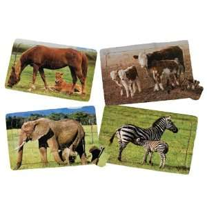 Real Life Mother & Baby Animal Puzzles   Farm Animals