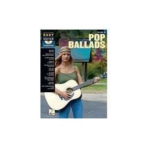 Pop Ballads Softcov wCD Easy Rhythm Guitar Series Vol 8