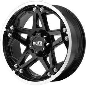 20 inch 20x9 Moto Metal 960 black wheels rims Hummer H3