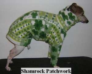 ST PATRICK PATCH ITALIAN GREYHOUND CHINESE CRESTED PJ