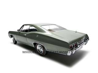 1967 CHEVROLET IMPALA SS 427 GREEN 118 ERTL AUTHENTICS