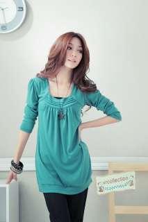 New AsiaPlus Long Sleeve Long Tee shirt Top XL 4XLjm560