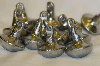 24 Duck Decoy Weights Goose Mushroom Style Anchors 6 oz