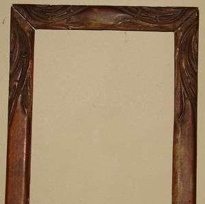 Antique Wooden Frame Hand carved frame Original |