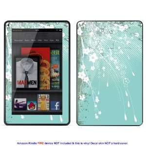Skin sticker for  Kindle Fire case cover Kfire 527 Electronics