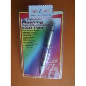Miraclebeam Flashing Multi color LED Pen Electronics