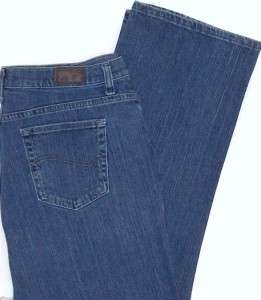 Denim Jeans. Straight Leg Relaxed Fit Womens Plus Size 18 s