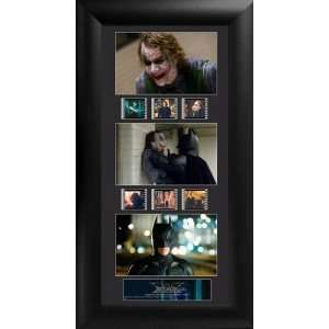 Batman The Dark Knight Joker Heath Ledger Wood Framed Film