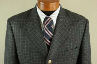 Zanetti 3 Piece Super 100s Merino Wool Suit, Size 42