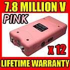 PINK VTS 880 7.8 Million Volt Mini Stun Gun PHX800   Wholesale Lot