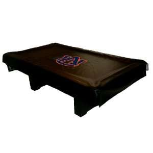 Auburn Tigers College Billiard Table Cover, Universal Fit