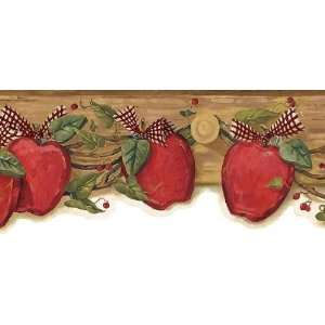 Country Apple Wallpaper Border: Home Improvement