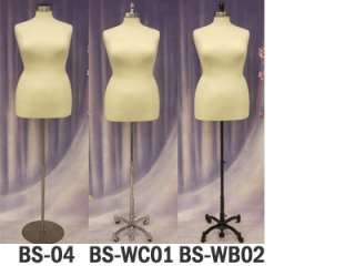 Mannequin Manequin Manikin Dress Form #F18/20W+BS 02