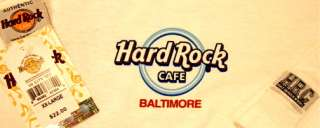 Hard Rock Cafe BALTIMORE 2006 City Tee SHIRT MWMT 2X XXL