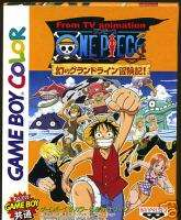 One Piece Nintendo Game Boy GB color Import Japan