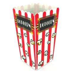 Plastic 8.25 inch Tall Popcorn Containers (Case of 24)  Overstock