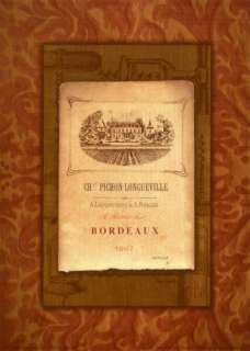 Vintage French Wine Label II Prints by Mary Beth Zeitz at AllPosters