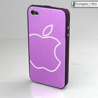Thin Case Cover Bumper Apple iPhone 4 with BLING Apple Logo