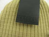 New Headers Unisex Cotton Radar Brim Beanie Snowboard Knit Winter