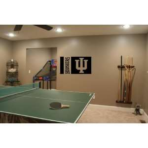 Hoosiers Wall Mural Vinyl Sticker Sports Logos A337