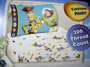 Toy Story Woody Twin Sheet Set Bedding Pillowcase NEW