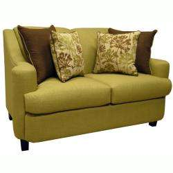Lime Green Fabric Sofa Bed Sleeper and Loveseat  Overstock