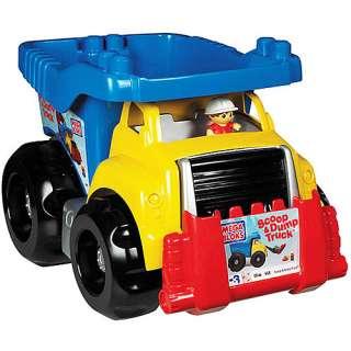 Mega Bloks Filln Dump Truck, Kids Dump Truck, Toy Dump Truck, Mega