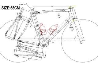 DIY Road Bicycle 3K Weave Frame Fork Integrated Seatpost Full Carbon