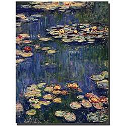 Claude Monet Water Lilies Gallery wrapped Canvas Art