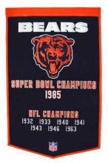 Chicago Bears NFL Superbowl Championship Banner