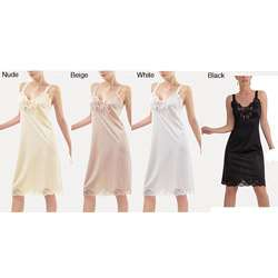 Illusion Womens Non cling Full Slip