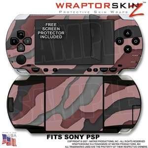 Sony PSP (original) Skin   Camouflage Pink WraptorSkinz