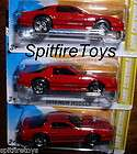 LOT OF 3 2012 NEW MODELS 1985 CHEVROLET CAMARO IROC Z RED LOW S&H