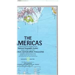 MAP THE AMERICAS, Produced by the Carotgraphic Division, National